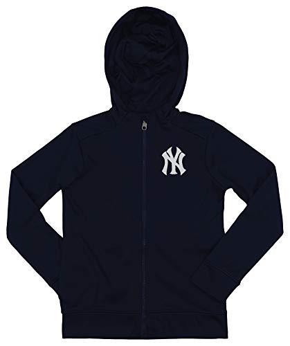 (Outerstuff MLB Yankees Boys 8-20 Performance Full Zip Hoody 10/12-M)