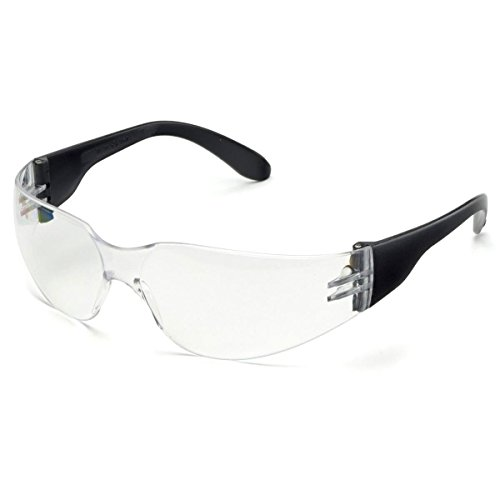 - Elvex TTS Hard Coated Polycarbonate Lens, Black Temples, Clear