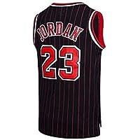 ZEH Camiseta de baloncesto para hombre de la NBA Michael Jordan 23 Chicago Bulls Retro Gym Chaleco deportivo (color…
