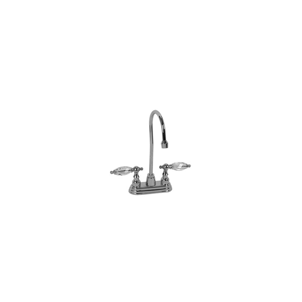 Legacy Brass BAR 245UPN UPN Uncoated Polished Nickel Bathroom Sink Faucets 4 Centerset Bar Faucet