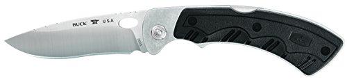 - Buck Knives 550 Selector 2.0 Exchangeable Blade Folding Midlock Hunting Knife with 3 Interchangeable Blades & Sheath, 420HC Steel, Nylon Handle, Black