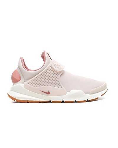 NIKE Sock Dart PRM Womens Fashion-Sneakers 881186-601_8 - SILT RED/SILT RED-RED Stardust-SAIL