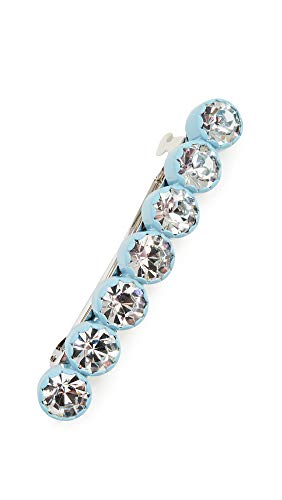 - Marc Jacobs Women's Scalloped Crystal Barrette, Light Blue, One Size