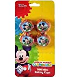 Mickey Mini Cupcake Liner 100ct [Contains 8 Manufacturer Retail Unit(s) Per Amazon Combined Package Sales Unit] - SKU# UP5298