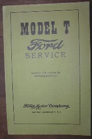 model t ford service manual detailed instructions for servicing rh amazon com model t owners manual pdf 1922 ford model t owners manual