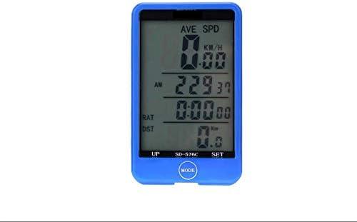 HUOFEIKE Cuentakilómetros, Bicicleta código Metro velocímetro ...