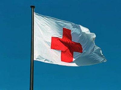 (SolarMax Nylon 4x6 4 x 6 FT Sewn Red Cross Medical Ambulance Flag US MADE)
