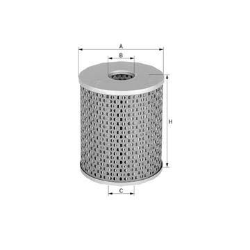 Filtre à huile evotop remplacement MANN 65002822