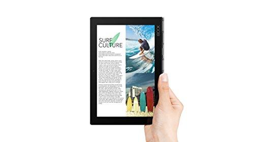 Lenovo Yoga Book - FHD 10.1'' Windows Tablet - 2 in 1 Tablet (Intel Atom x5-Z8550 Processor, 4GB RAM, 64GB SSD), Black, ZA150000US by Lenovo (Image #1)