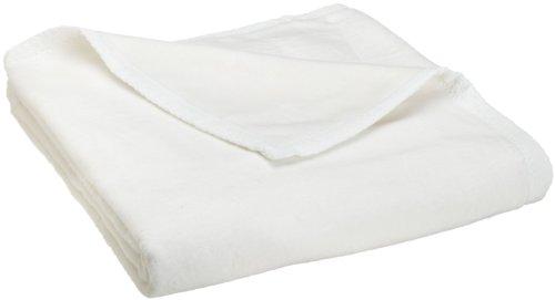 Peacock Alley All Seasons Super King Blanket, White (Season Blanket)