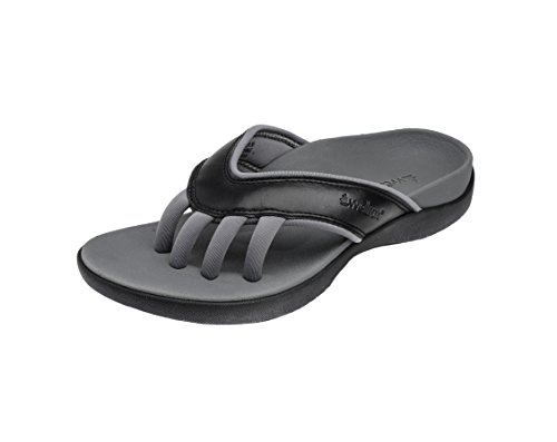 Wellrox Women's Evo-Cloud Black Casual Sandal 11 by Wellrox