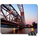 Aerial lift bridge Mouse Pad, Mousepad (Bridges Mouse Pad)