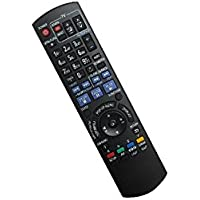 HCDZ Replacement Remote Control For Panasonic DMP-BD601K DMP-BD605 DMP-BD10 Blu-ray DVD BD Player