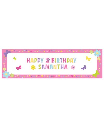 Personalised Happy Birthday Party Banner for $<!--$3.00-->