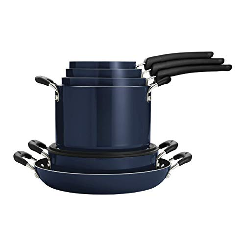 Tramontina Nesting 11 Pc Nonstick Cookware Set – Naval – 80156/067DS