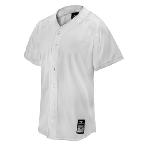 Mizuno 350519.0000.04.S Elite Mesh Game Jersey S White