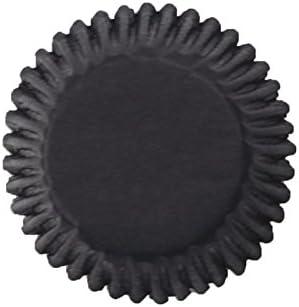 Cupcake Cases in Black