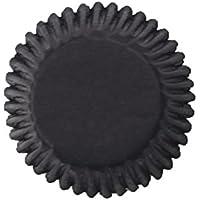 Culpitt 54pk BLACK 50mm Standard Cupcake Cup Cake Muffin Baking Cases