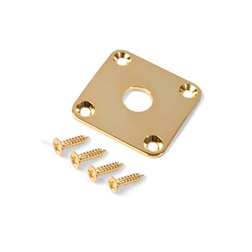 Golden Age Metal Jack Plate for Gibson Les Paul, - Paul Jack Plate Les