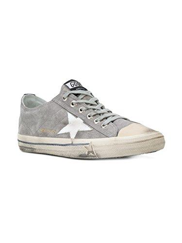 Sneakers G32ms639r8 In Pelle Grigia Doca Doro