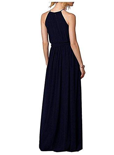 Off Bridesmaid Blush Halter Shoulder Chiffon Long Turqoise Dress Botong Dress Neck The wFqXxFSf