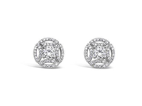 Meghan Markle Wedding Inspired Cubic Zirconia Stud Earrings
