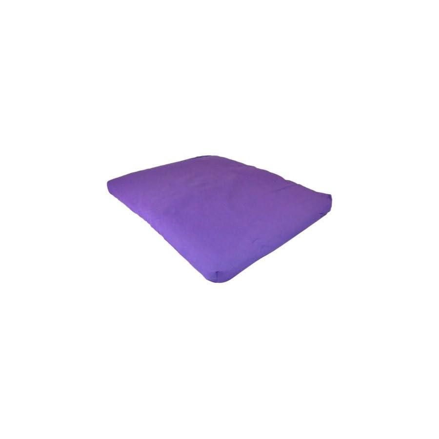 Yoga Direct 100 Percent Cotton Zabuton Meditation Cushion