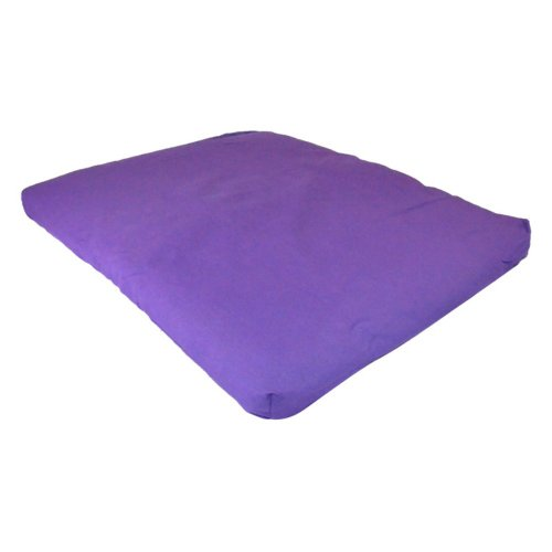 YogaDirect 100 Percent Cotton Zabuton Meditation Cushion