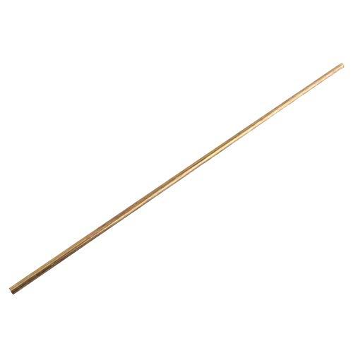6mm Brass Tube 8mm Brass Tubing Round Length 50cm Model Making - Outer Dia 10mm 12mm 14mm 16mm 18mm 20mm (Outer Diameter 8mm) 1 8 Brass Tubing