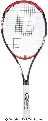 Prince - o3 Hybrid Hornet Mid Plus + Tennis Racket w/ Free Stringing Choose Your Grip Size: 4 1/2