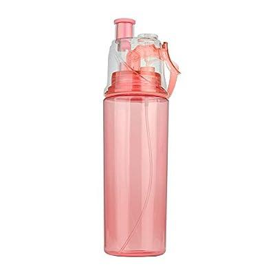 Wffo Travel Bottle, 600ML Sport Cycling Mist Spray Water Gym Beach Bottle Leak-Proof Drinking Cup
