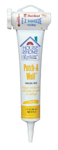 Wall Hole Filler (Red Devil 0658 Patch-A-Wall Spackling Paste, White, 5-Ounce)