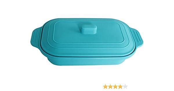 VITAL VAC Estuche de Vapor 2-3 Raciones – Vaporera Papillote de Silicona – para Cocinar al Vapor en Microondas: Amazon.es: Hogar