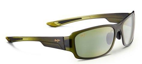 Maui Jim Sunglasses - Bamboo Forest / Frame: Olive Fade Lens: Maui - Twin Maui Falls Jim