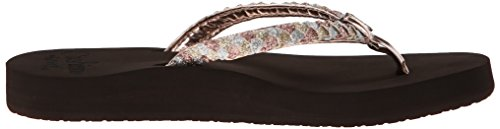 Reef Mujer Twisted Star – Cojín (Flip-Flop Rose Gold