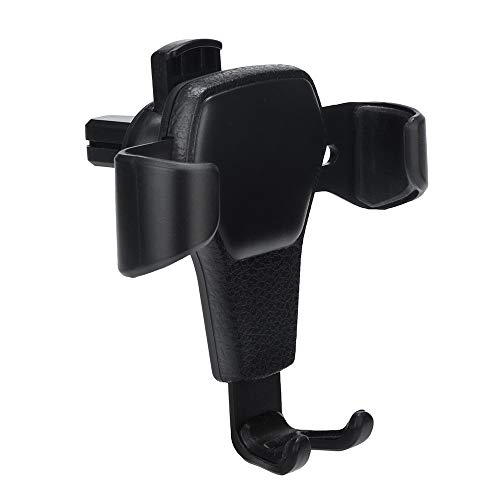 ❤️MChoice❤️Universal in Car Holder Stand Air Vent Mount Clip Cell Mobile Phone Holder Black ()
