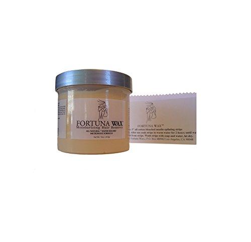 Fortuna Wax Moisturizing Hair Remover - 12 Oz