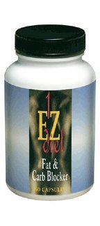 Maximum Intenational 1-EZ Diet, Fat and Carb Blocker, 60 Capsules