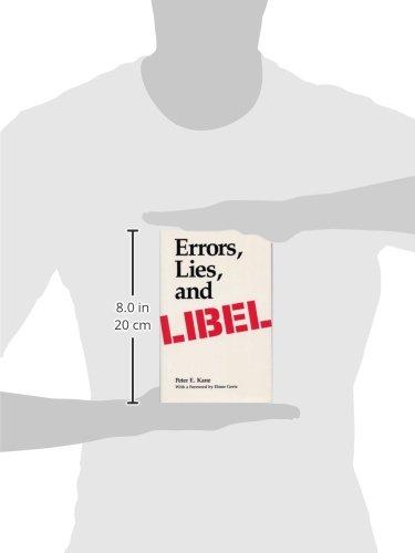 Errors, Lies, and Libel by Brand: Southern Illinois University Press