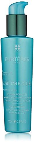Rene Furterer SUBLIME CURL Curl Nutri-Activating Cream, Curly Wavy Hair, Leave-in Moisturizer, Humidity & Frizz Control, 3.3 oz. (Rene Furterer Modeling Paste)