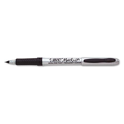 BIC GPMU11BK Marking Ultra-Fine Tip Permanent Marker, Tuxedo Black, Dozen