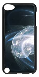 Fractal Space Black Background Ipod Touch 5 Case with Black Skin Edges PC Hard Shell by Shariecover