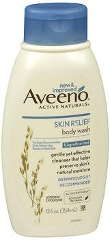 Aveeno Fragrance Free Cleanser (Aveeno Active Naturals - Skin Relief Body Wash - Fragrance Free - Net Wt. 12 FL OZ (354 mL) Per Bottle - Pack of 2 Bottles)