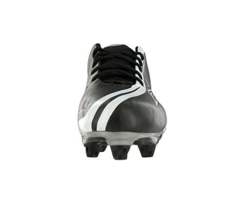 Reebok Mens Nfl Brander Snelheid Laag Voetbal Cleat Zwart / Wit