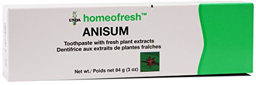 UNDA - Homeofresh Anisum - Toothpaste with Fresh Plant Extracts - 84 g (3 oz)