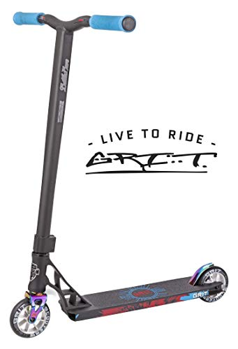 Grit Elite Pro Scooter (Satin Black/Tri Chrome) (Grit Scooter Pro)