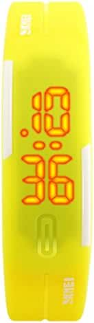 Boys Girls Led Digital Watch Water Resistant Led Light Weight Dial Sport Student Wrist Watch