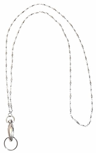 Hidden Hollow Beads Women's Strong Lanyard Non Breakaway - Stronger (Stainless Steel) ()