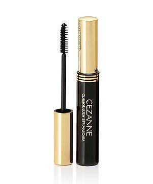 2d4a0616ba6 Amazon.com : Cezanne Glamour Lash Mascara Black Waterproof Volume : Beauty