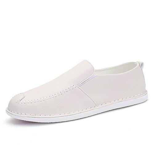 Moda británica llevaba zapatos de haba/Tendencias de ocio de verano de zapatos de los hombres A
